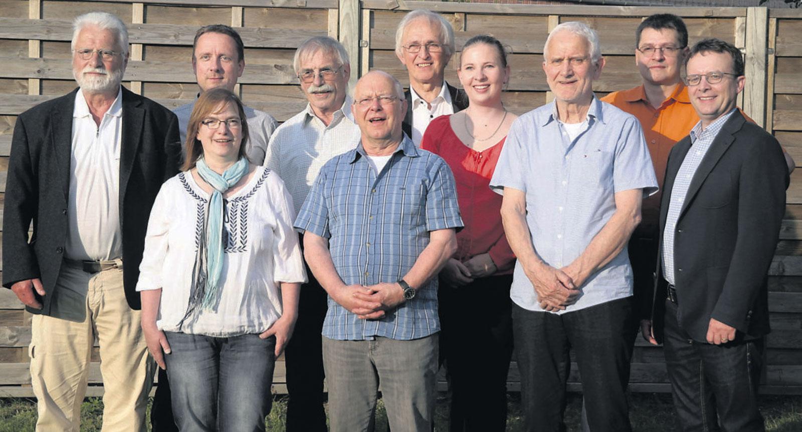 Die Kandidaten für die Wahl zum Samtgemeinderat Tostedt im Wahlbereich 2 (Außendörfer)