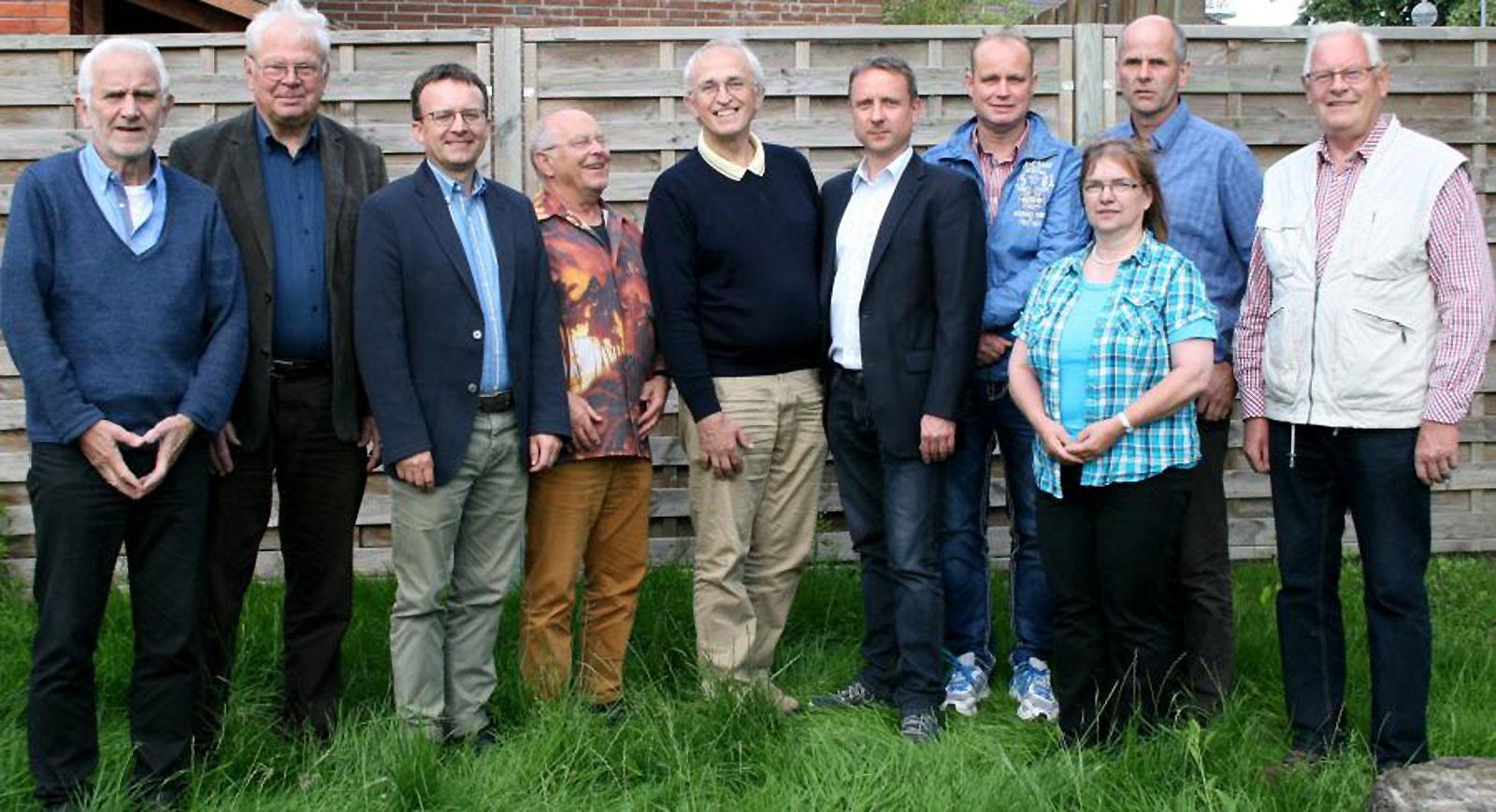 Die Kandidaten für die Wahl zum Kreistag (Wählergemeinschaft Landkreis Harburg - WG)